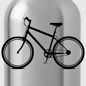 Bicycle style T-Shirts - Water Bottle