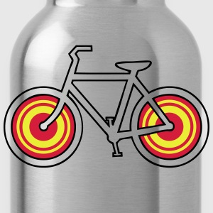 Bicycle pattern circles T-Shirts - Water Bottle