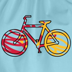 fiets model T-shirts - Gymtas