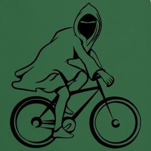 Bicycle ghost ghost funny T-Shirts - Cooking Apron