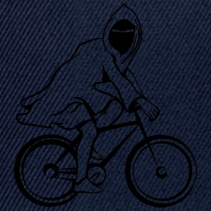 Bicycle ghost ghost funny T-Shirts - Snapback Cap