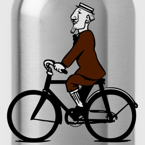 cycling gentleman T-Shirts - Water Bottle