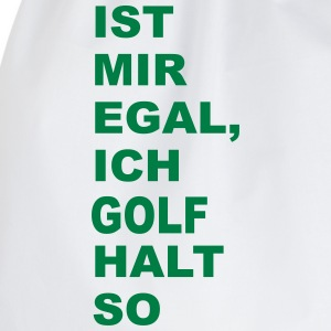 golf T-Shirts - Turnbeutel