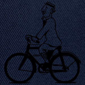 cycling gentleman T-Shirts - Snapback Cap