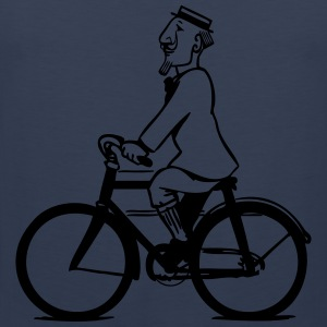 cycling gentleman T-Shirts - Men's Premium Tank Top
