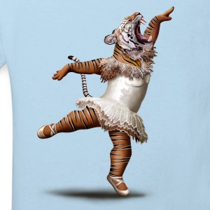 Bleu pastel KILLER DANCE MOVE Tee shirts - T-shirt Bio Enfant