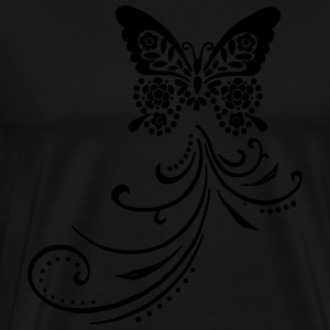 butterfly by Customstyle Sweat-shirts - T-shirt Premium Homme