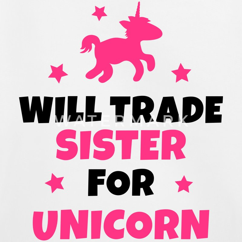 Will trade sister for unicorn Pullover & Hoodies - Kinder Premium Hoodie
