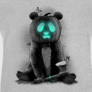 Gris chiné Gris chiné PANDALOWEEN Sweat-shirts Manches longues - T-shirt Bébé