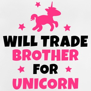 Will trade brother for unicorn Tee shirts - T-shirt Bébé