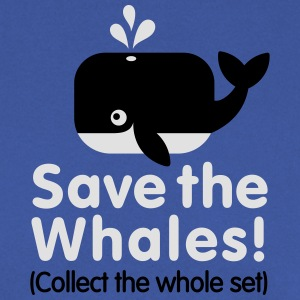 Save the whales (Collect the whole set) Tee shirts - Sweat-shirt Homme