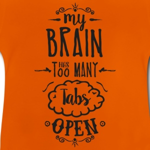my brain - dark T-Shirts - Baby T-Shirt