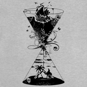 surreal hourglass ocean and desert- Shirts - Baby T-Shirt