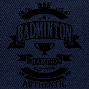 Badminton Tee shirts - Casquette snapback