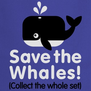 Save the whales (Collect the whole set) Shirts - Keukenschort