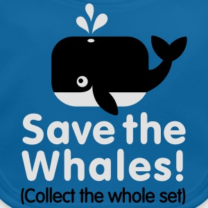 Save the whales (Collect the whole set) Shirts - Bio-slabbetje voor baby's