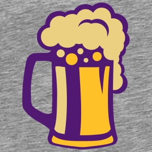 Beer drawing alcohol glass _203153 Long sleeve shirts - Men's Premium T-Shirt