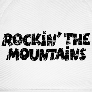 Rockin the Mountains Vintage Black (DK) T-shirts - Baseballkasket