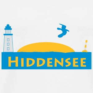 Hiddensee - Männer Premium T-Shirt
