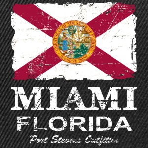 Florida Flag  -  Vintage Look Tee shirts - Casquette snapback