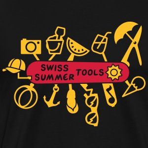 Swiss Summer Knife Sports wear - Men's Premium T-Shirt