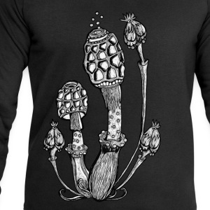 Magic Mushrooms, Paddestoelen,van paddo, goa T-shirts - Mannen sweatshirt van Stanley & Stella