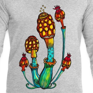 Magic Mushrooms, champignons magiques, goa, trance Tee shirts - Sweat-shirt Homme Stanley & Stella