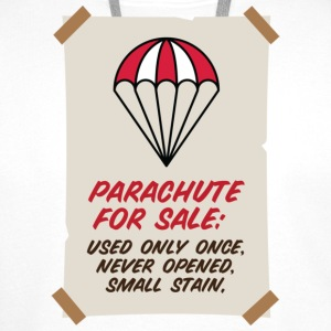 Parachute for sale. Only once opened! Bags & Backpacks - Men's Premium Hoodie