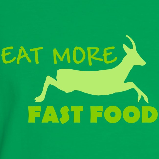 Schürze Fast Food
