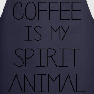 Coffe Is My Spirit Animal T-Shirts - Cooking Apron