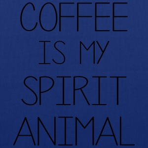 Coffe Is My Spirit Animal T-Shirts - Tote Bag