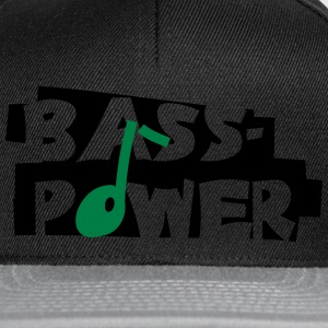 Bass-Power - Snapback Cap