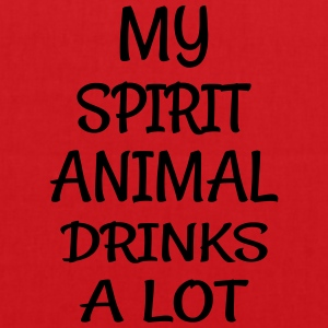 My Spirit Animal Drinks Animal T-Shirts - Tote Bag