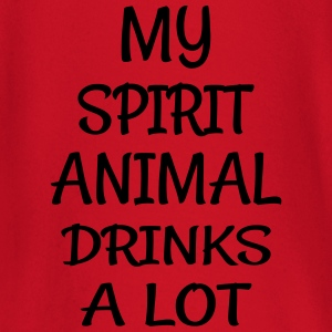 My Spirit Animal Drinks Animal T-Shirts - Baby Long Sleeve T-Shirt