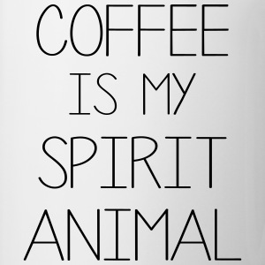 Coffe Is My Spirit Animal T-Shirts - Mug