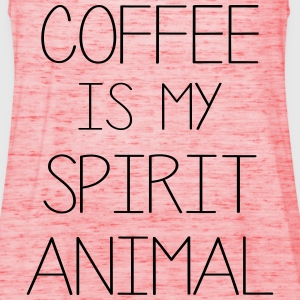 Coffe Is My Spirit Animal T-Shirts - Women's Tank Top by Bella