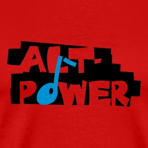 Alt-Power - Männer Premium T-Shirt
