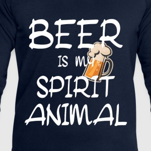 Beer Is My Spirit Animal T-Shirts - Men's Sweatshirt by Stanley & Stella