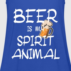 Beer Is My Spirit Animal T-Shirts - Women's Tank Top by Bella