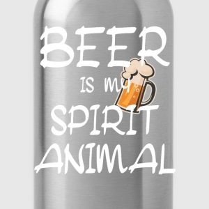 Beer Is My Spirit Animal T-Shirts - Water Bottle
