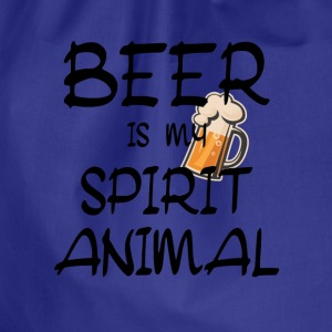 Beer Is My Spirit Animal Shirts - Drawstring Bag
