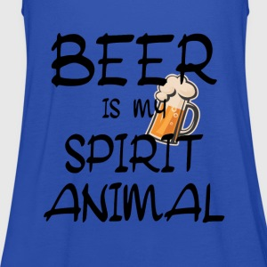 Beer Is My Spirit Animal Shirts - Women's Tank Top by Bella