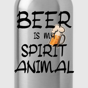 Beer Is My Spirit Animal Shirts - Water Bottle