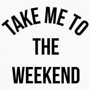 Take Me To The Weekend  Badges - T-shirt manches longues Premium Homme