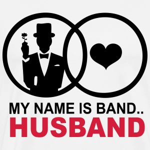 My name is Band..Husband - Männer Premium T-Shirt