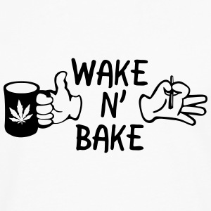 Wake N' Bake T-Shirts - Men's Premium Longsleeve Shirt