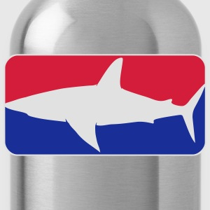 league_shark_vec_3 nl T-shirts - Drinkfles