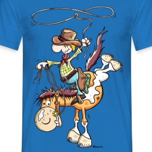Cowboy with horse Hoodies & Sweatshirts - Men's T-Shirt