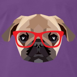 Hipster Mops (Low Poly) Tops - Men's Premium T-Shirt