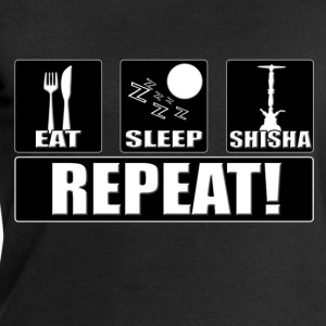 Eat, Sleep, Shisha, Repeat! - Boys T-Shirt (Black) - Männer Sweatshirt von Stanley & Stella